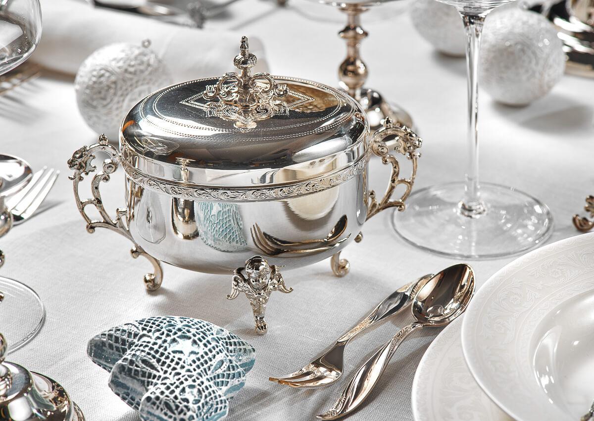 Srebrne sztućce i galanteria stołowa z tradycjami | Exclusivedesign.pl